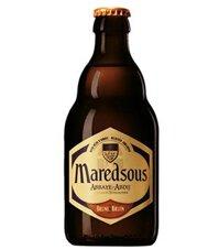 Bia Maredsous nâu 8% 330ml