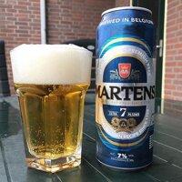 Bia Martens Extra 7 Pilsner lon cao - thùng 24 lon x 500ml