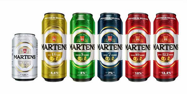 Bia Martens Gold 4,6% – lon 500ml, thùng 24 lon