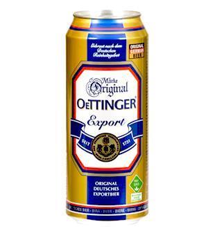 Bia Oettinger vàng 5,4% 500ml
