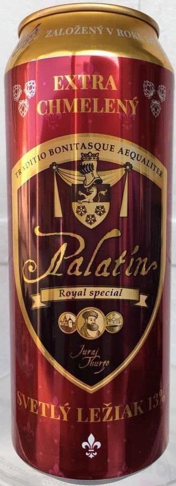 Bia Palatin lon 500ml