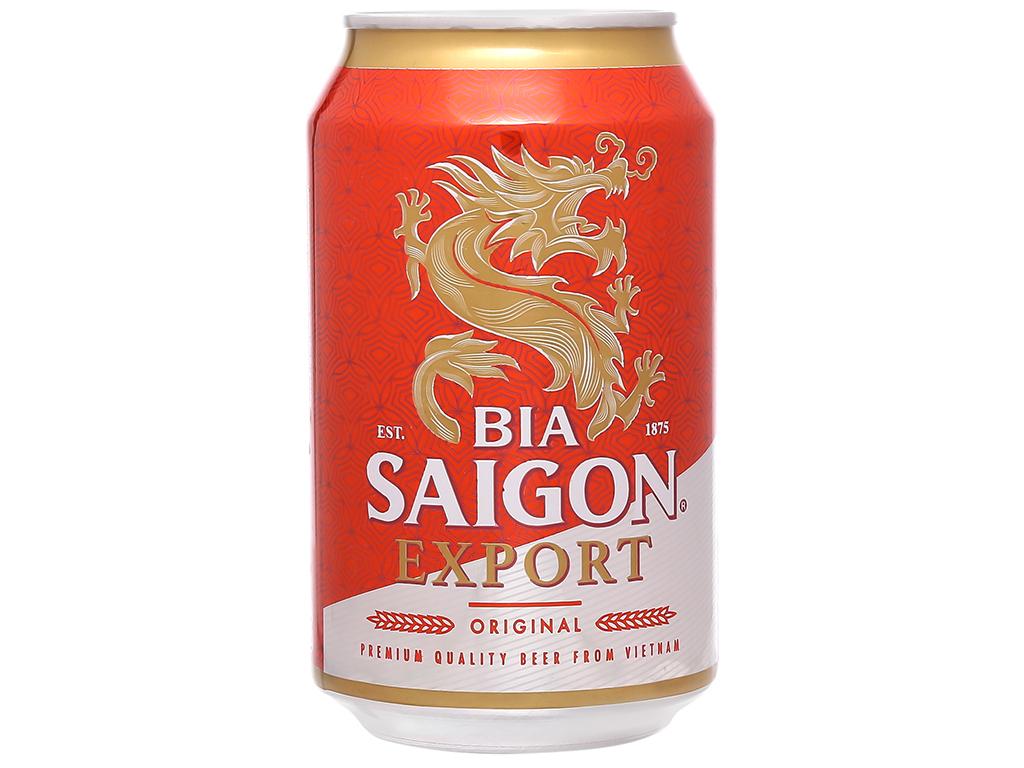 Bia Sài Gòn Export 330ml