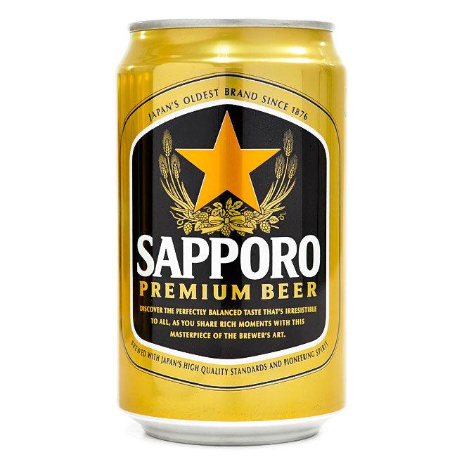 Bia Sapporo Premium 330 ml - 1 lon