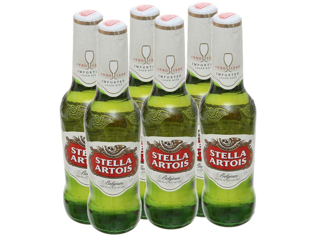 Bia Stella Artois – 330ml, 6 chai