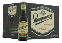 Bia Tiệp Staropramen - thùng 24 chai 330ml