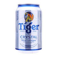 Bia Tiger Crystal lon 330ml