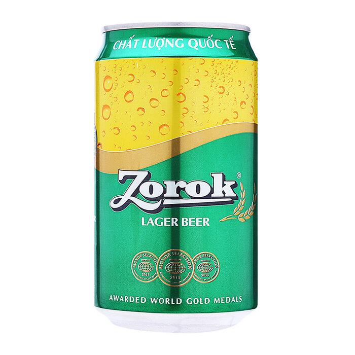 Bia Zorok lon 330ml