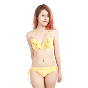 Bikini 2 mảnh quyến rũ màu cam - ZATG02