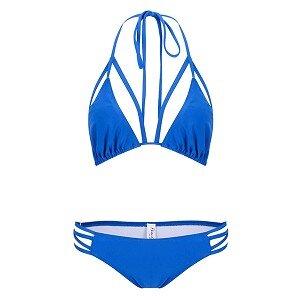 Bikini 2 mảnh quyến rũ màu xanh - TG56