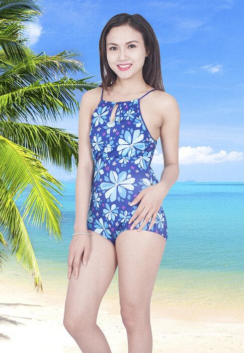Bikini một mảnh Narsis A6001