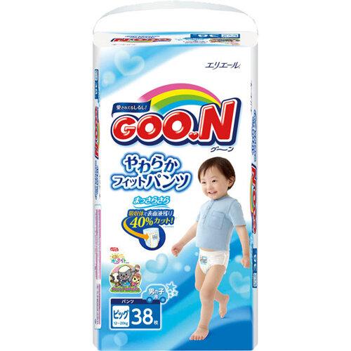 Bỉm Goon quần XL38+2 boy nội địa nhật