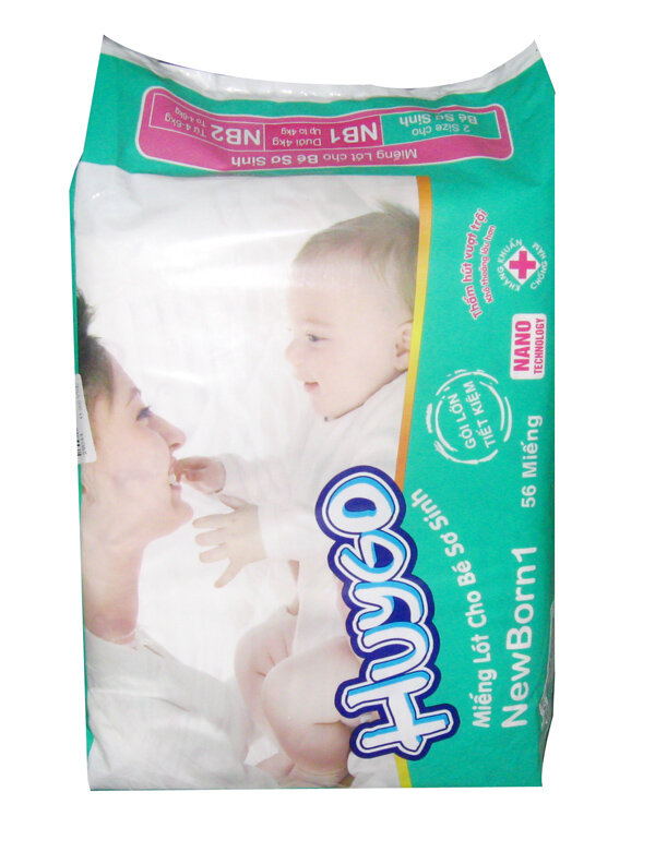 Bỉm Huygo Newborn 1 (56 miếng)