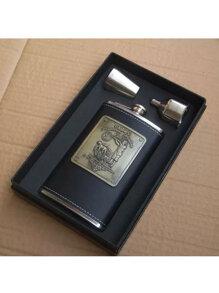 Bình đựng rượu inox thợ săn 10OZ - DL001 - 0.3 lít