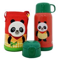 Bình giữ nhiệt Lock&Lock Cartoon Kids Vacuum Panda - LHC1435PDA 550ml