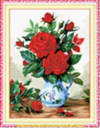 Bình hoa hồng YA622