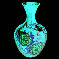 Bình hoa kiểu tròn đá xanh ngọc BH01