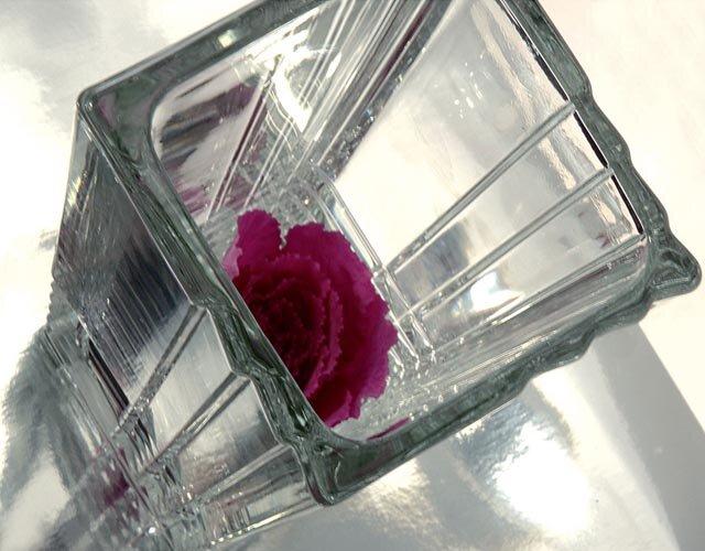 Bình hoa thủy tinh Duemila