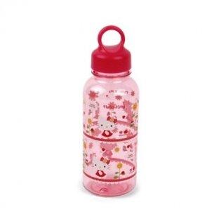 Bình nước bằng nhựa Hello Kitty Flower Lock&Lock LKT623F - 350 ml