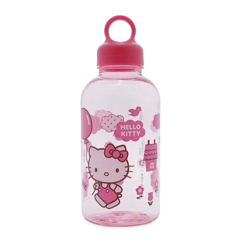 Bình Nước Bằng Nhựa Hello Kitty Balloons Lock&Lock - LKT624B - 530Ml