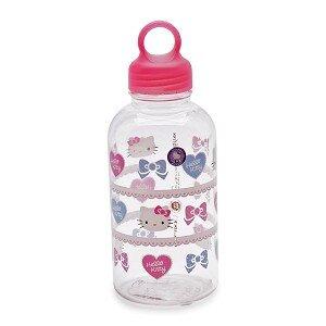 Bình Nước Bằng Nhựa Kitty Heart - Lock&Lock - LKT624H - 530Ml