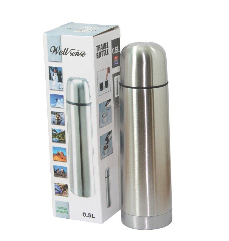 Bình nước giữ nhiệt Kiến Lâm IN.02002 (IN.02-002) - 500 ml, thép không rỉ