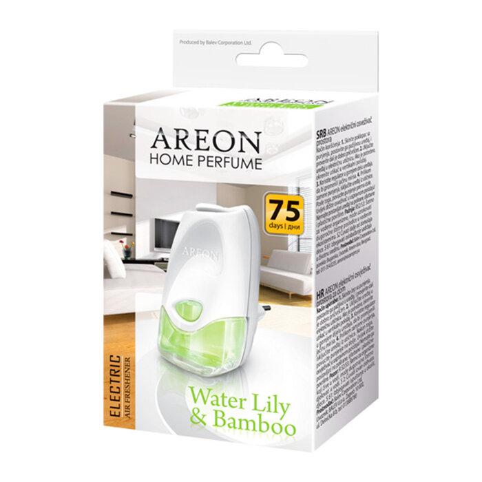 Bình nước hoa cắm điện Areon Home Perfume Electric Water Lily & Bamboo AHP02