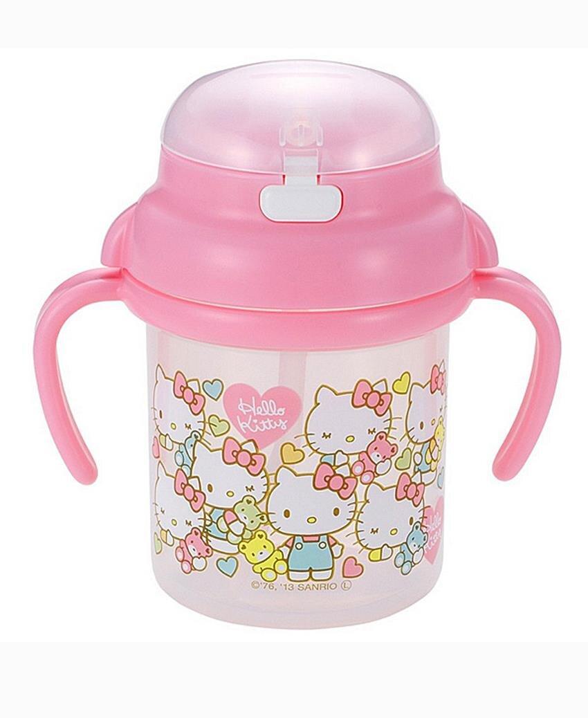 Bình nước vòi hút Hello Kitty Japan