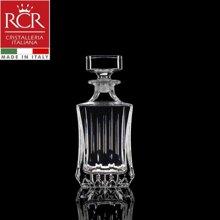 Bình rượu vuông pha lê Ý RCR Adagio - 750ml