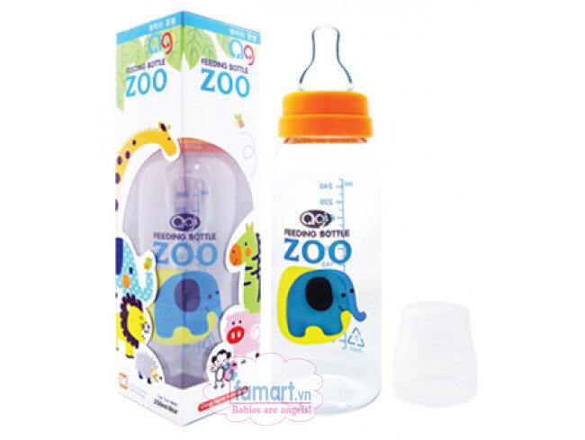 Bình sữa Agi Premium 250ml - cổ thường