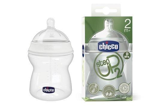 Bình sữa Chicco Step Up 2M+ điều chỉnh dòng chảy