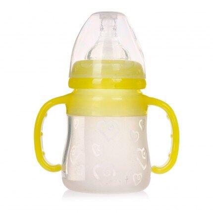 Bình sữa cho bé sơ sinh cổ rộng Baby Love 150ml
