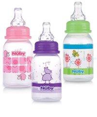Bình sữa chống sặc cổ hẹp Nuby Non-Drip 120 ml