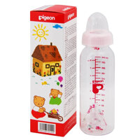 Bình sữa cổ hẹp trơn Pigeon 240ml