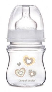 Bình sữa cổ rộng Canpol EasyStart 35/216 - 120ml