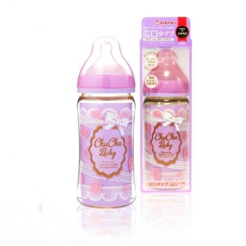 Bình sữa cổ rộng Chuchu Baby PPSU - 240ml