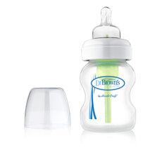 Bình sữa cổ rộng Dr Brown's Options - 150ml
