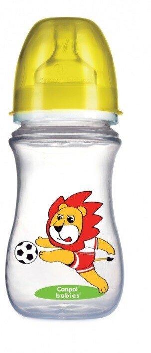 Bình sữa cổ rộng nhựa EasyStart Canpol 240ml