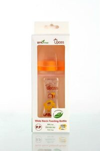 Bình sữa cổ rộng PP không BPA Upass UP08901 - 300ml