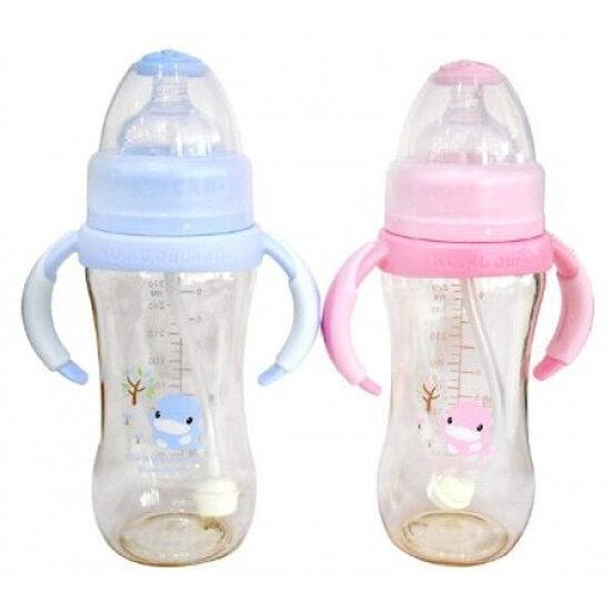 Bình sữa có tay cầm nhựa pes KU583 - 280ml