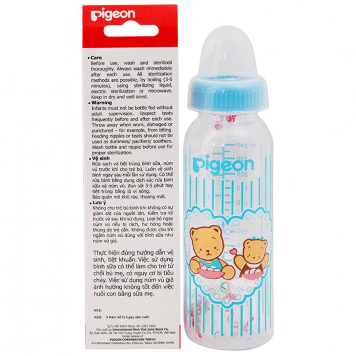 Bình sữa cổ thường Pigeon BSD241 - 240ml