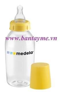 Bình sữa đơn có núm vú Medela 250ml