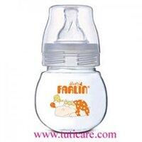 Bình sữa Farlin NF-813 - 80 cc ,  cổ rộng vô trùng