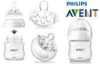 Bình sữa mô phỏng tự nhiên Philips Avent Natural 125ml