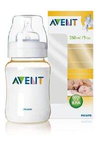 Bình sữa nhựa Pes BPA Free Philips Avent 260ml