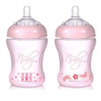 Bình sữa nhựa trẻ em Nuby 7019845 - 240ml