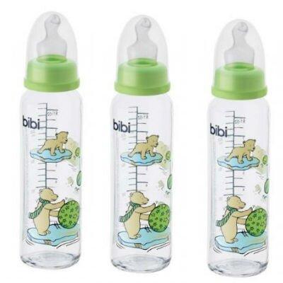 Bình sữa thuỷ tinh BiBi 109574 - 240ml