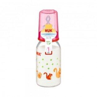 Bình sữa thủy tinh núm ti silicone số 1 Nuk 747008 - 125ml