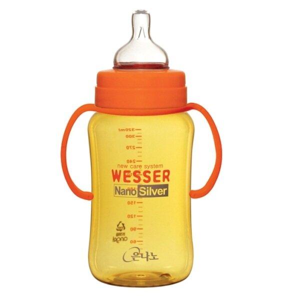 Bình sữa Wesser Nano Sivler 320ml
