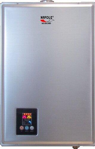 Bình tắm nóng lạnh gas NAPOLIZ NA10GWH