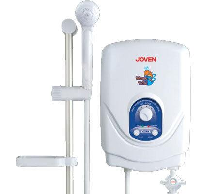 Bình tắm nóng lạnh trực tiếp Joven EC802 (EC-802) - 4400W,, chống giật